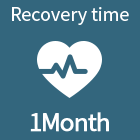 Recovery time 1Month