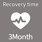 Recovery time 3Month