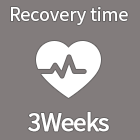 Recovery time 3Weeks